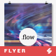 Flow - Minimal Party Flyer / Poster Artwork Template A3 - GraphicRiver Item for Sale