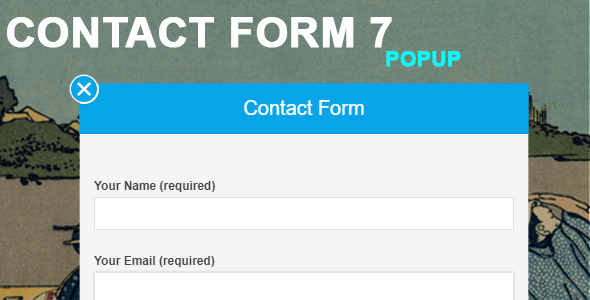 Contact Form 7 Popup - CodeCanyon Item for Sale