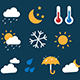16 Weather Icons - VideoHive Item for Sale