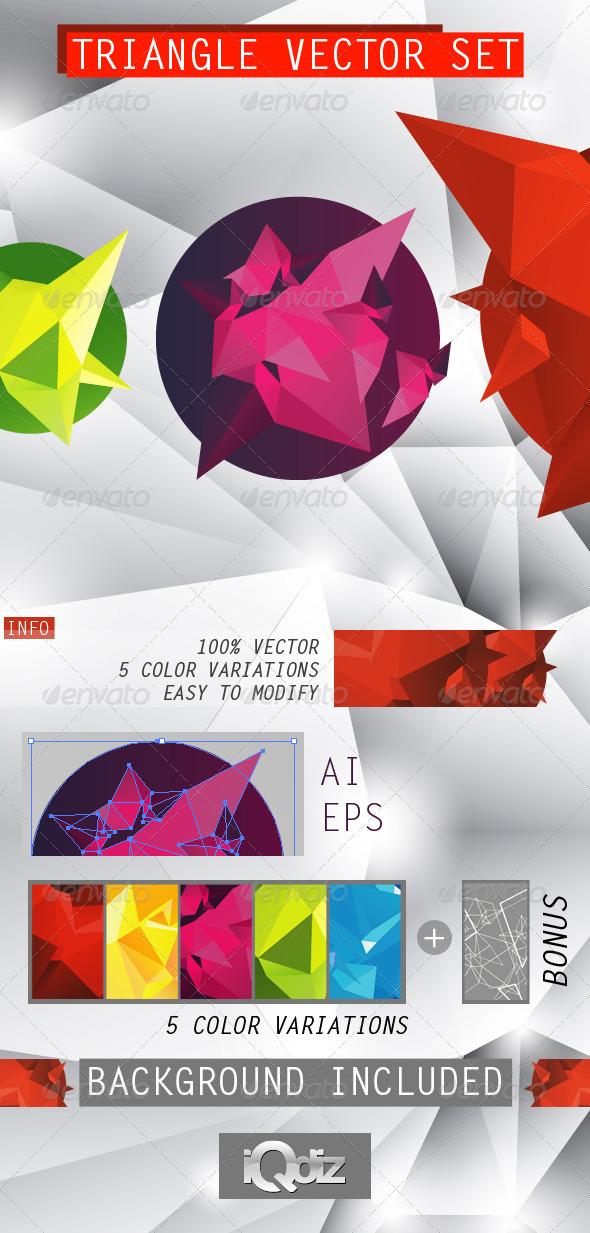 Triangle vector set - Miscellaneous Conceptual