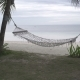 Hammock Swings Against Sea - VideoHive Item for Sale