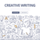 Creative Writing Doodle Concept - GraphicRiver Item for Sale