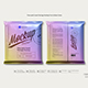 Flow-pack Snack Package Mockup Front & Back Views - GraphicRiver Item for Sale
