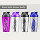 Shaker Bottle Mockup Bundle - GraphicRiver Item for Sale