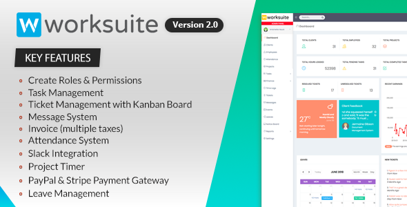 WORKSUITE - Project Management System - CodeCanyon Item for Sale