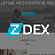 Zdex Multipurpose Business and Agency Template - ThemeForest Item for Sale
