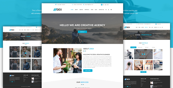 Image of Zdex Multipurpose Business and Agency Template
