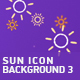 Sun Icon Background 3 - VideoHive Item for Sale