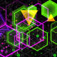 Pulsating Colored Geometric Shapes - VideoHive Item for Sale