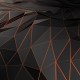 Abstract Polygonal Connecting Surface of Space - VideoHive Item for Sale