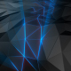Polygonal Space is Torn by a Stream of Light - VideoHive Item for Sale