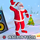 Santa Party 3D Animaton Kit - 3DOcean Item for Sale