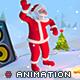 Santa Party 3D Animaton Kit - 3DOcean Item for Sale