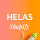 Helas - Minimal Shopify Theme - ThemeForest Item for Sale