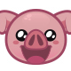 Pig Emoji - GraphicRiver Item for Sale