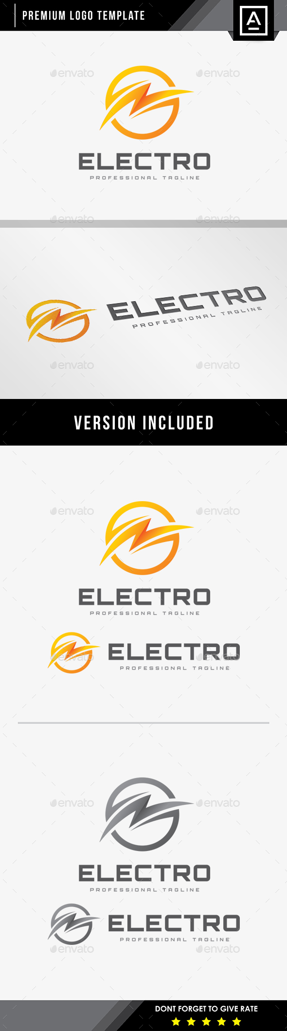 Electro Energy Logo - Symbols Logo Templates