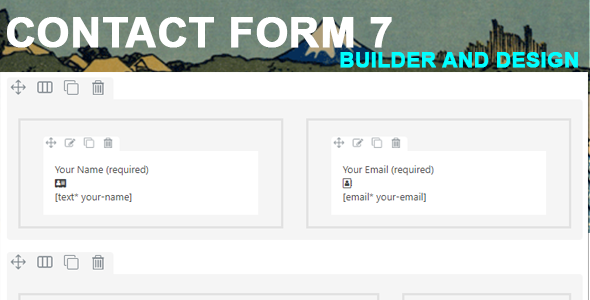 Contact Form 7 Builder And Designer - CodeCanyon Item for Sale