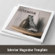 Square Interior Magazine Template - GraphicRiver Item for Sale