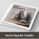 Square Interior Magazine Template - GraphicRiver Item for Sale