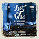 Party Flyer Template - Lost in Wild - 3 Templates in 1 Package - GraphicRiver Item for Sale