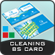 Cleaning Services Business Card Templates - GraphicRiver Item for Sale