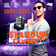 Stand up Comedy Flyer Template - with 3 Different Size Templates