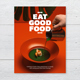 Eat Good Food Cookbook Template - GraphicRiver Item for Sale