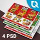 Restaurant Postcard - GraphicRiver Item for Sale