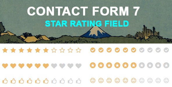 Contact Form 7 Star Rating Field - CodeCanyon Item for Sale