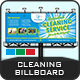 Cleaning Services Billboard Templates