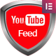 Elementor Page Builder - YouTube Feed : User, Channel and Playlist