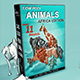 Low Poly Animals (Africa Edition) - 3DOcean Item for Sale