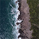 Waves Beating on the Beach in Montenegro Aerial Drone Shoot - VideoHive Item for Sale