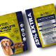 Dog Supplement Packaging Template