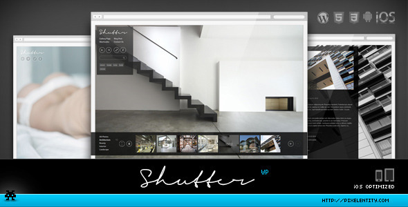 Shutter – Elegant Photography WordPress Theme