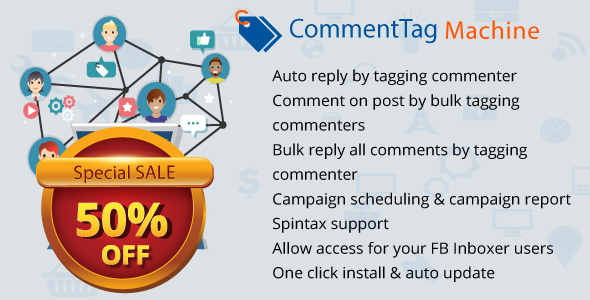 nulled scrit CommentTag Machine - A FB Inboxer Add-on for tagging