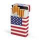 Cigarettes and tobacco in USA. Pack of cigarettes with a flag of - PhotoDune Item for Sale