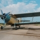 Single-engine Agricultural Aircraft on the Airfield - VideoHive Item for Sale
