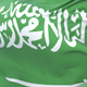 Saudi Arabia Flag Waving
