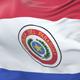 Paraguay Flag Waving