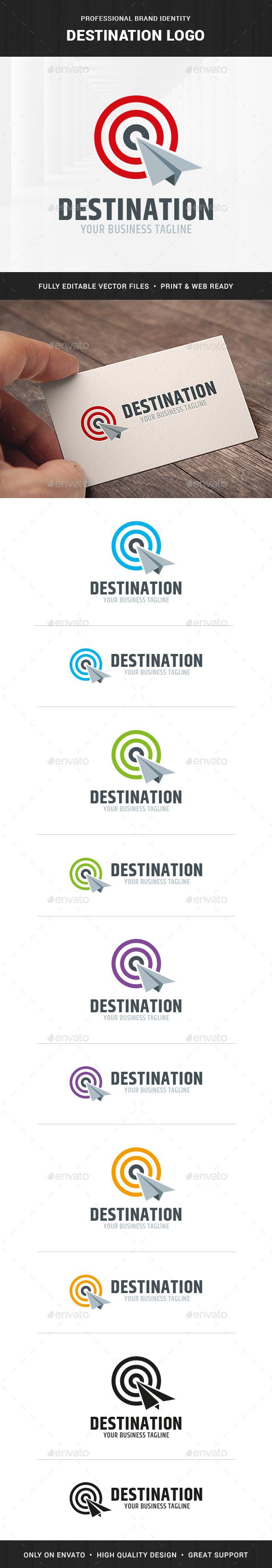 Destination Logo Template - Objects Logo Templates