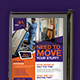 Moving Services Poster Design Templates