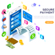 Payments Protection Vector Illustration