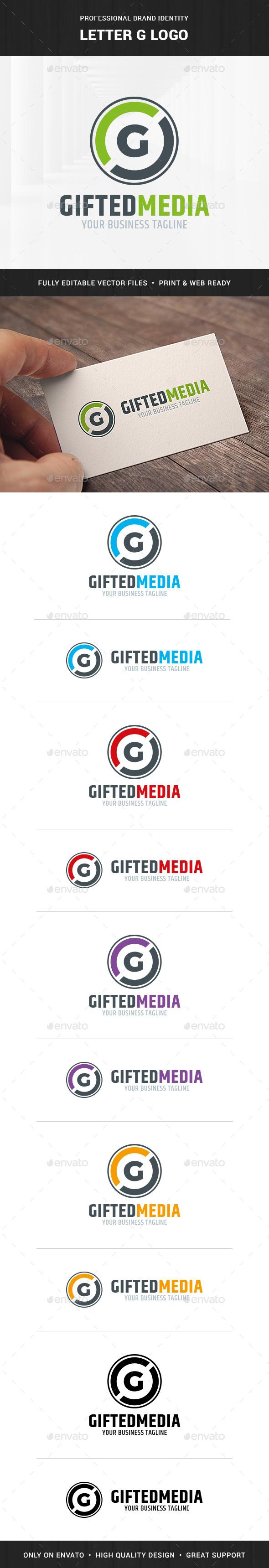 Letter G Logo Template - Letters Logo Templates