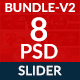 4th of July Web Slider-Bundle-8 Design