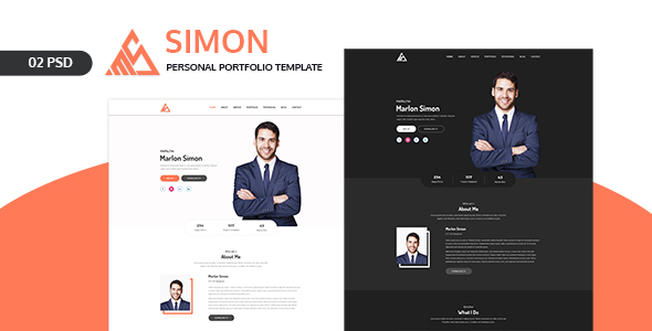 Brinlo - Creative agency startup business corporate PSD Template - 1