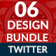 4th of July Twiter Header-Bundle - 6 Designs