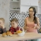 Multiethnic Family Enjoying Their Time Together in the Modern Kitchen - VideoHive Item for Sale