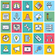 Search Engine Marketing Illustration Icon Set