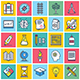 Education Illustration Icon Set